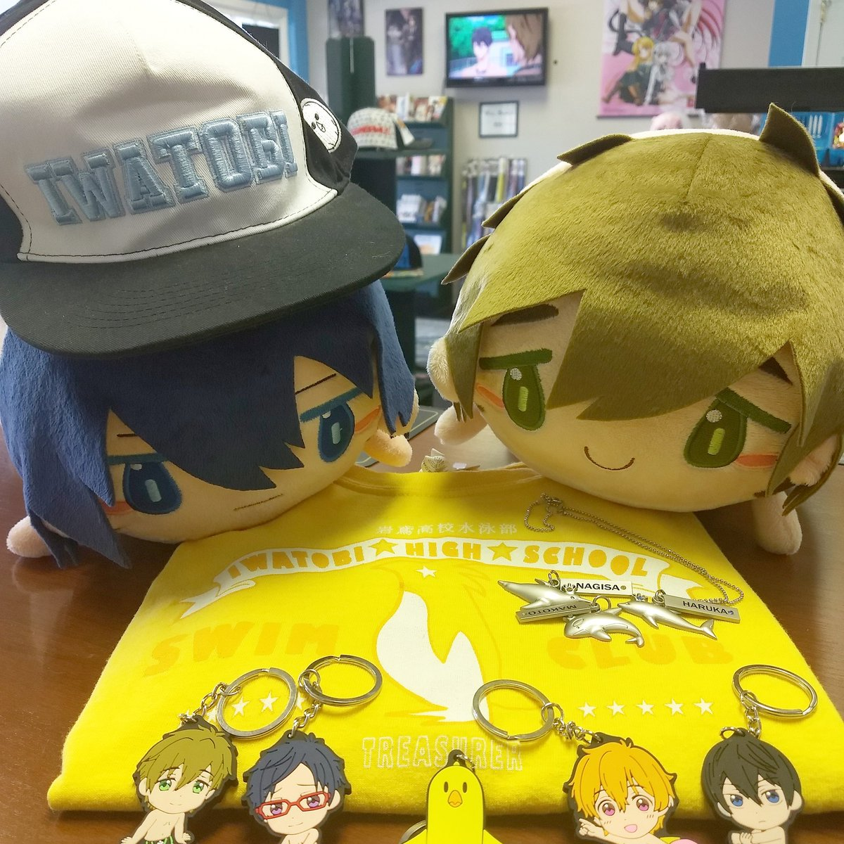Take Your Marks Movie Is In Theaters Tonight Only Come Today And Grab Some Of Our Free Items Before You Go See It Animeparadaisu Anime Freeanime