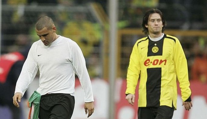 A very happy birthday to the Legendary Mark Fish, seen here with Former Czech midfielder Tomas Rosicky