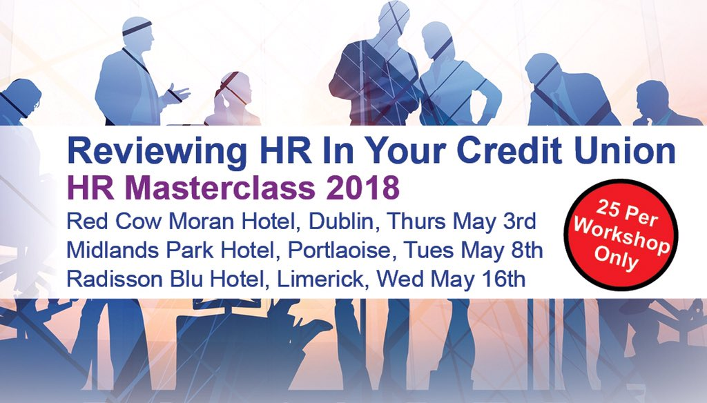 """test Twitter Media - As a result of member feedback and training recommendations we understand H.R. is a very extensive and important topic. This coming May, CUMA will be holding a number of HR Masterclasses, """"Reviewing HR in Your Credit Union"""". Click here to book: https://t.co/U8UTOkCL2w https://t.co/mnczrz14mr"""