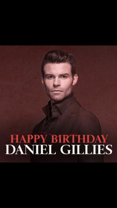 Happy Birthday Daniel Gillies +42