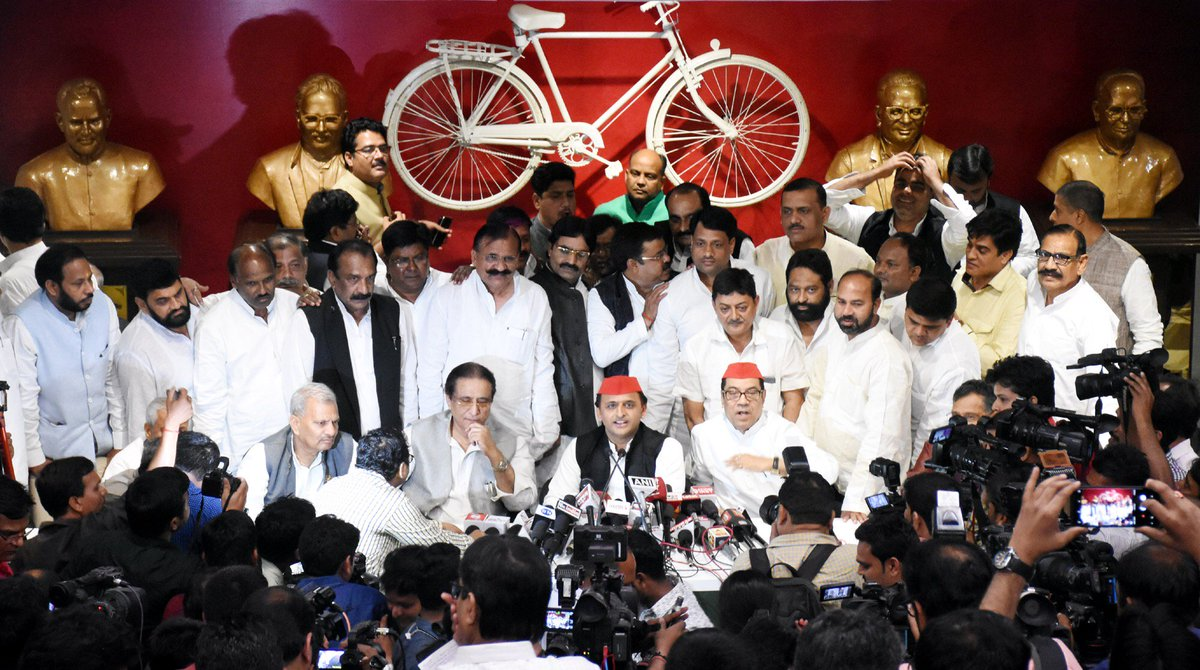 By-poll results indicates decreasing popularity of BJP: Akhilesh