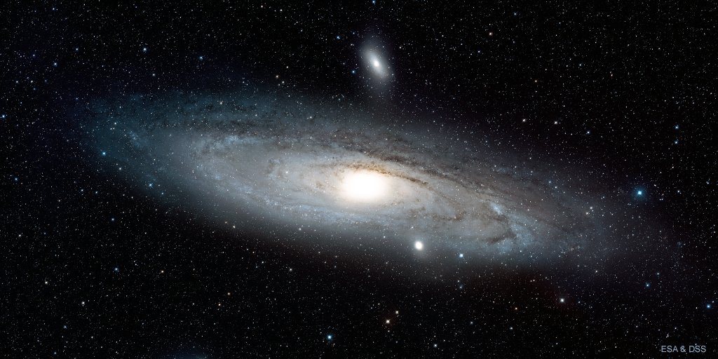 #Pi has been calculated to over a trillion digits. There are that many stars in the Andromeda Galaxy alone! Happy #PiDayDay!