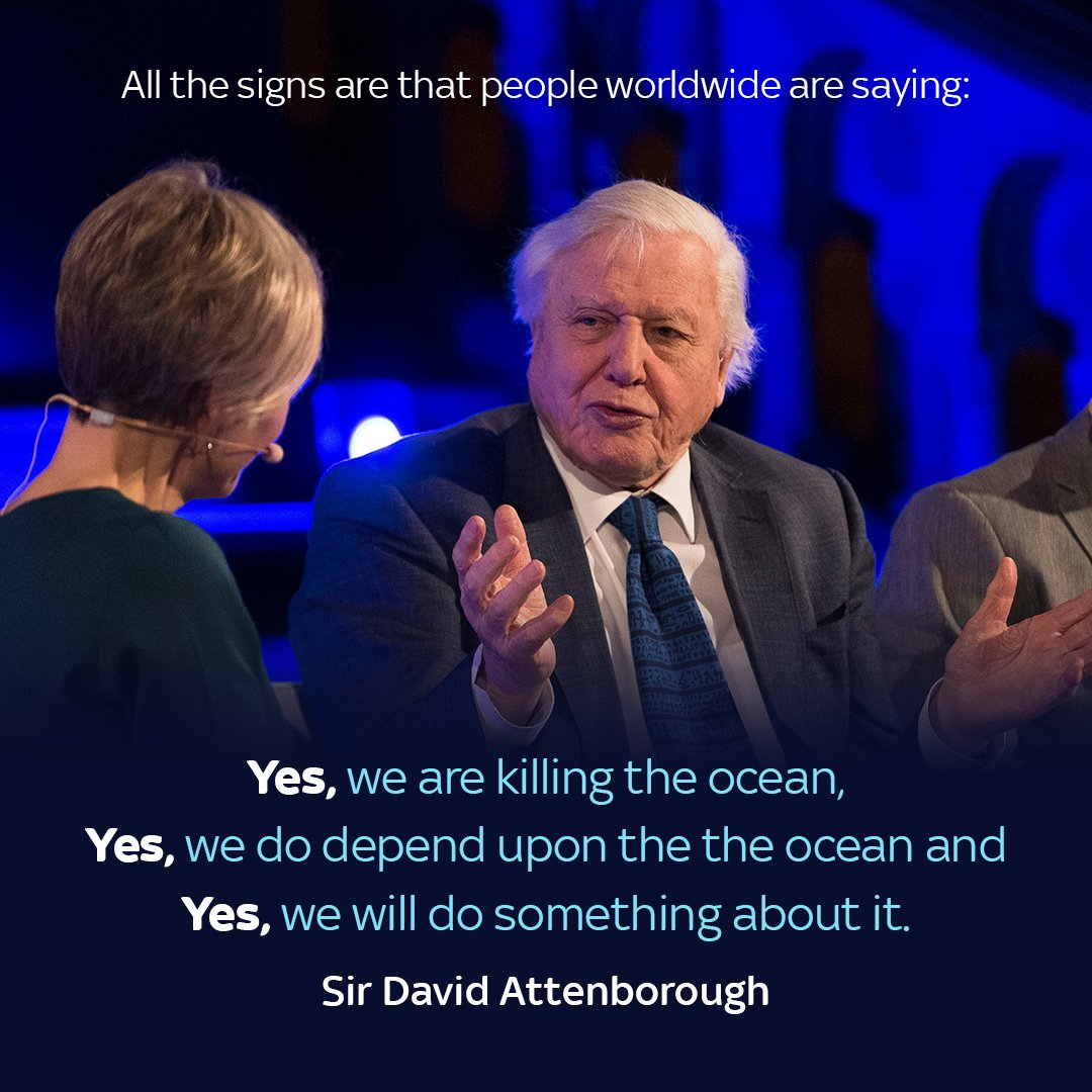 Some #WednesdayWisdom from, Sir David At...