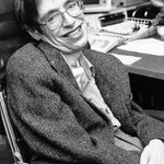 """Look up at the stars and not down at your feet. Try to make sense of what you see, and wonder about what makes the universe exist. Be curious."" Rest in peace, Stephen Hawking. Thank you for opening our minds and hearts. #StephenHawking"