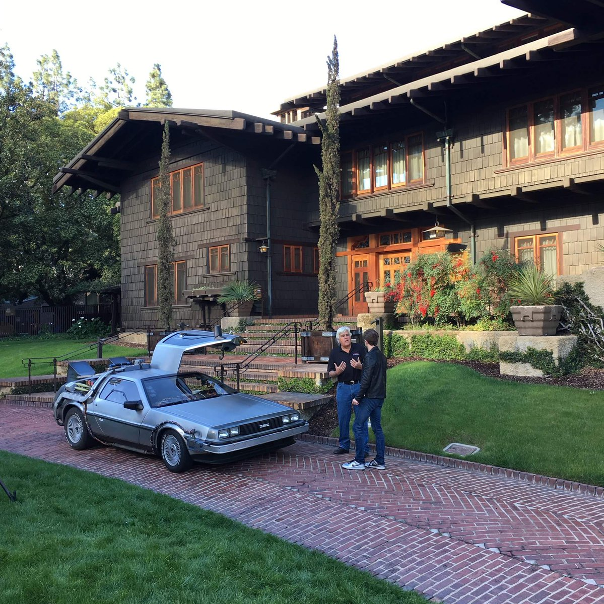 "Back to the Future™ on Twitter: ""Jay Leno, Chris Hardwick ..."