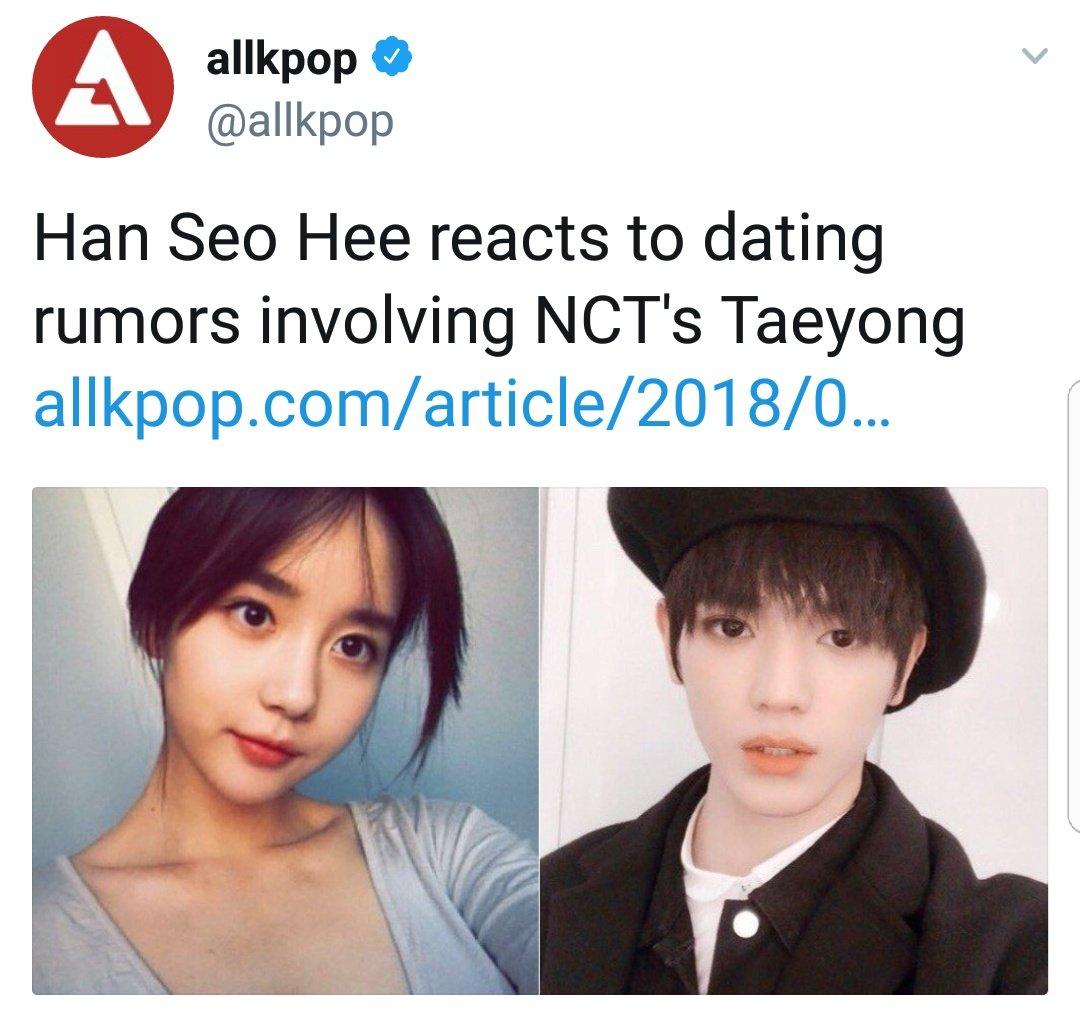 Taeyong dating rumors