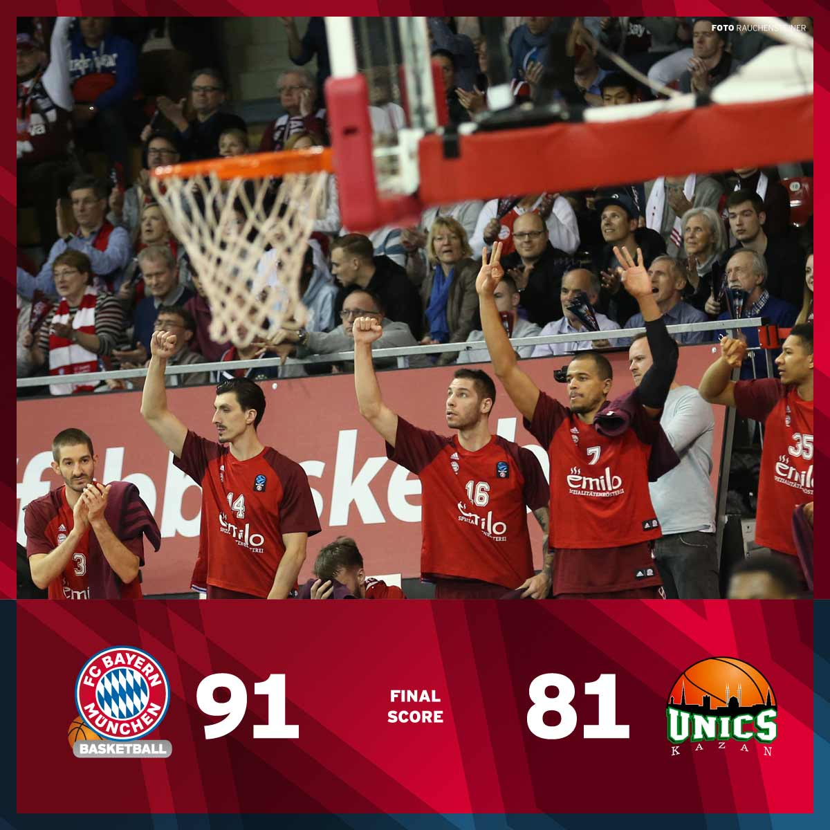 fc bayern basketball fcb basketball m nchen latest news breaking headlines and top stories. Black Bedroom Furniture Sets. Home Design Ideas