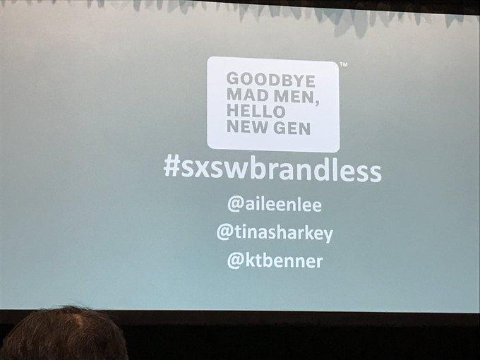#sxswbrandless twitter.