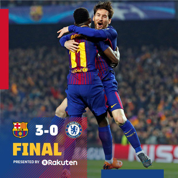 Barcelona twitter.