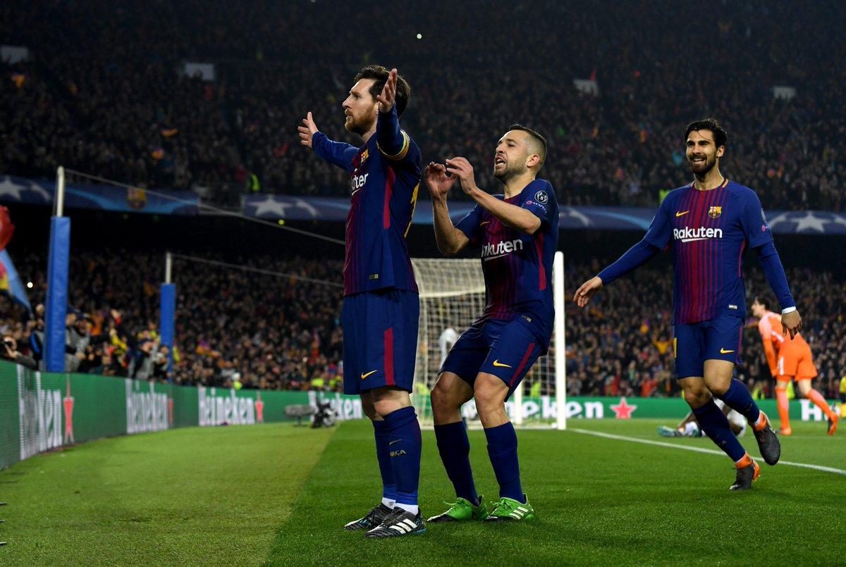 برشلونة يضرب تشيلسي بثلاثية نظيفة ويتاهل لربع النهائئ