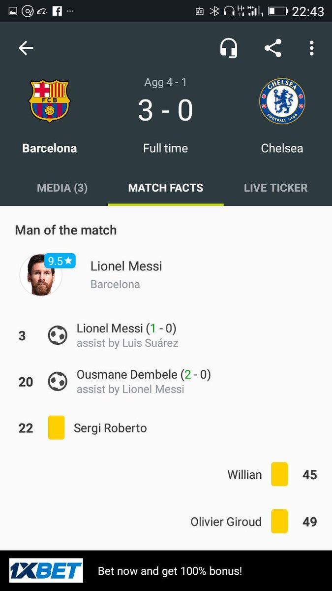Congratulations Barça fans