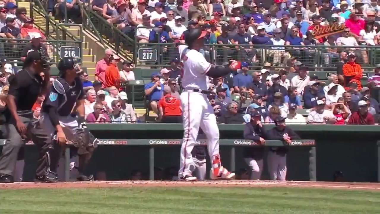 When you hit a ball that far, you have to admire your work. #Crushed https://t.co/NXgKp7UHig