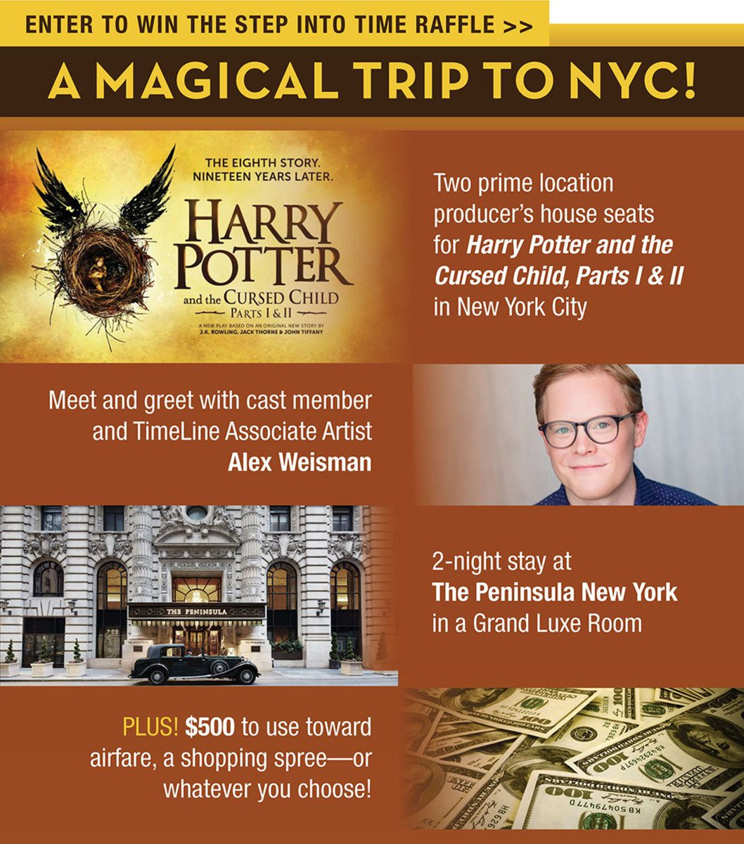 Also details on a #CursedChild raffle by @TimeLineTheatre for a trip to New York to see @HPPlayNYC - theres still a few hours left to enter! the-leaky-cauldron.org/2018/03/14/a-n…