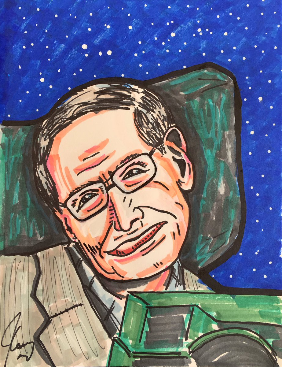 Cheers to you Stephen Hawking, the greatest mental athlete of our time. You are all that is! See you around, buddy! ;^)