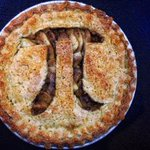 What's a mathematician's favorite #dessert? #Pi with a side of vanilla #icecream! Happy #PiDay everyone 🥧  #ATC #MathJoke