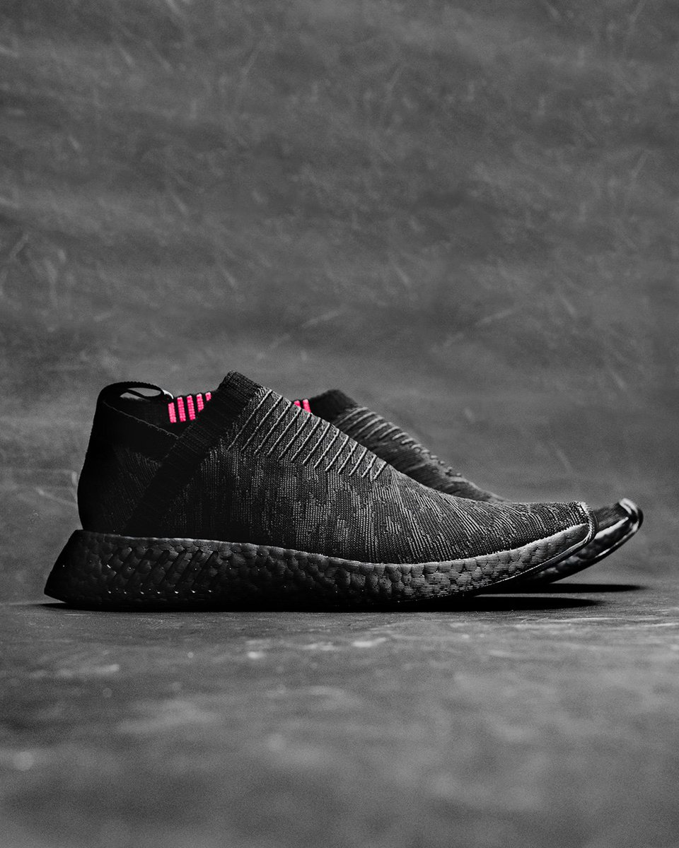 37e456577 This model of the City Sock 2 features a black patterned primeknit upper  with accents of pink on the collar.  UBIQ  TheWorldOver  CS2pic.twitter.com   ...