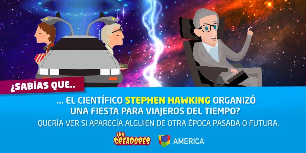 Stephen Hawking, el genial científico que a pesar sus dificultades físicas nunca dejó de investigar, crear teorías y compartirlas con el mundo. ¡Un gran ejemplo para todos! 🙏😍  #CienciaDivertida ➡ https://t.co/W8scofzmkz 🚀🌟😀💡 https://t.co/NfQOnmIJrq