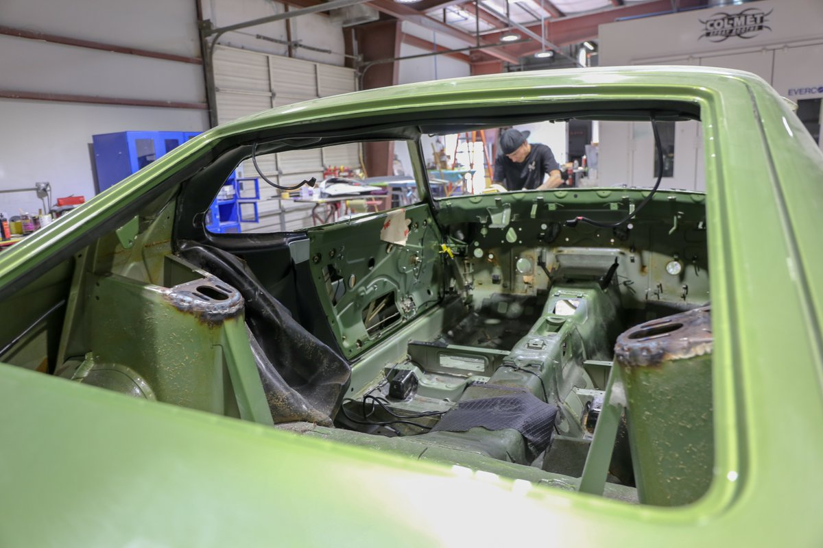 gas monkey garage on twitter the 280z is gutted but wait until you