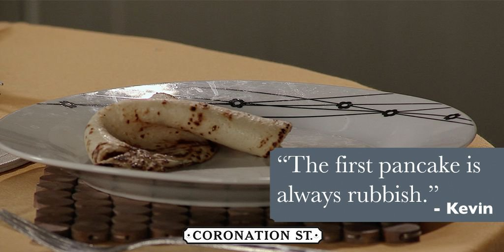 An important piece of #WednesdayWisdom from Kevin!  #Corrie