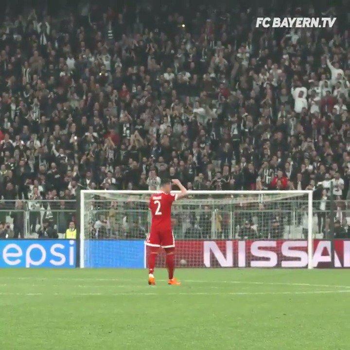 Was für ein Achtelfinale! 🏆#BJKFCB Wir ziehen den 🎩, @Besiktas. #MiaSanMia