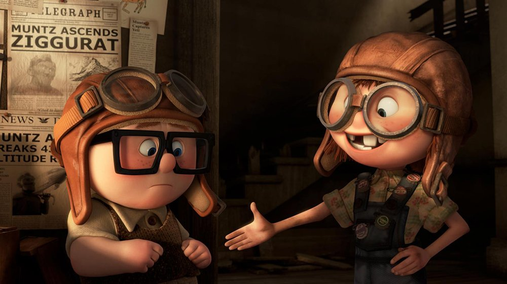 """Adventure is out there."" 🏠🎈  #Up #WednesdayWisdom"