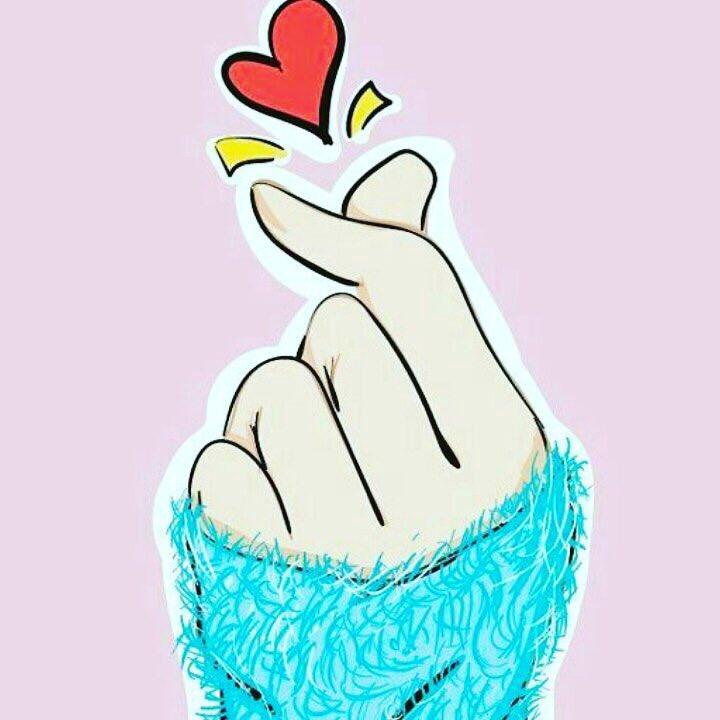 Картинки пальцами сердечко