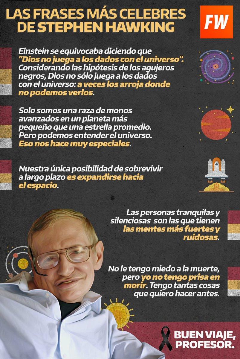 Stephen Hawking Stephen Hawking Regaló Frases Célebres
