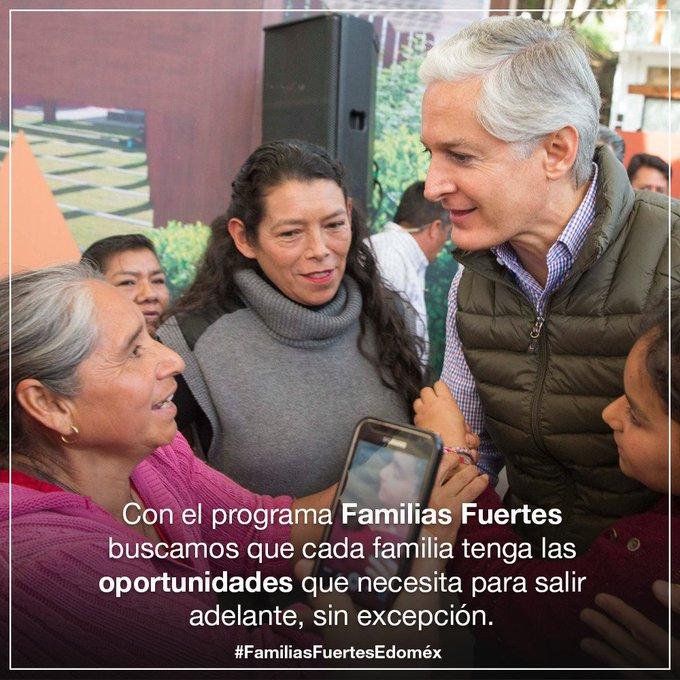 #FamiliasFuertesEdoméx