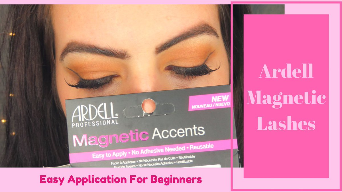 a506dcad269 So I created a video on my channel. Watch me put them on and see if they  really are easier than falsies! https://youtu.be/Rob4kDnOlhE  #ardellmagneticlashes ...