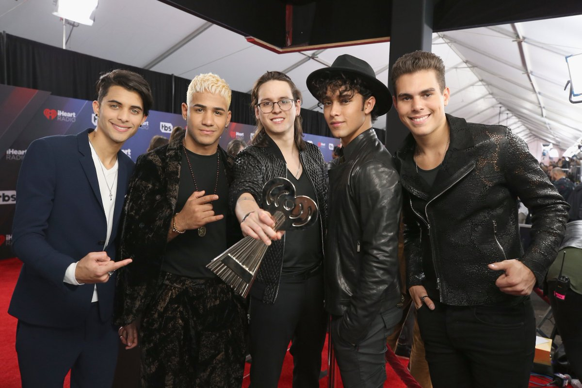.@CNCOmusic chats new music at the #iHeartAwards >> https://t.co/JQjVKp69sS