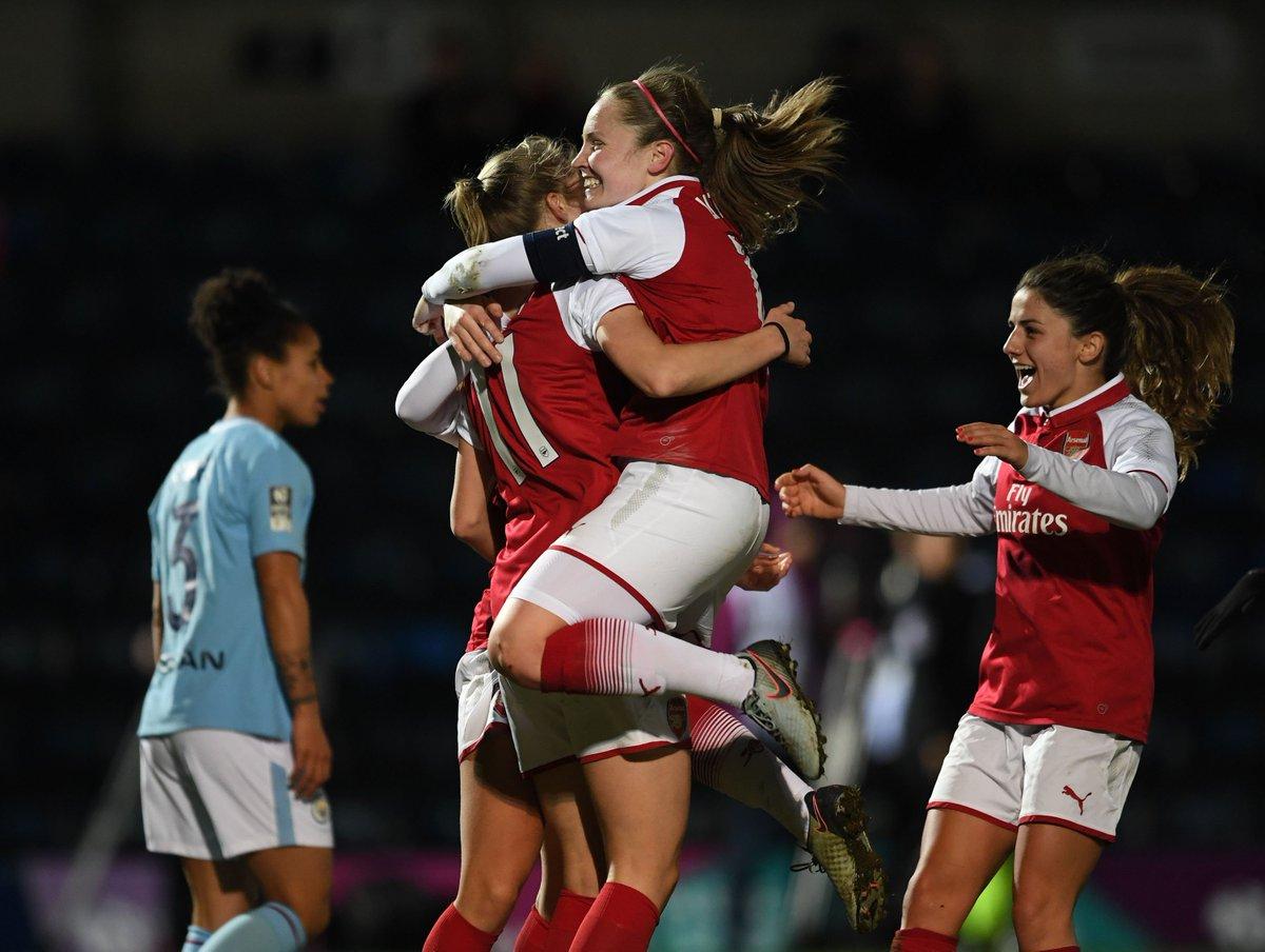 🏆 WE'VE DONE IT - FA WSL CONTINENTAL CUP CHAMPIONS 2018!   @ArsenalWFC 1-0 @ManCityWomen