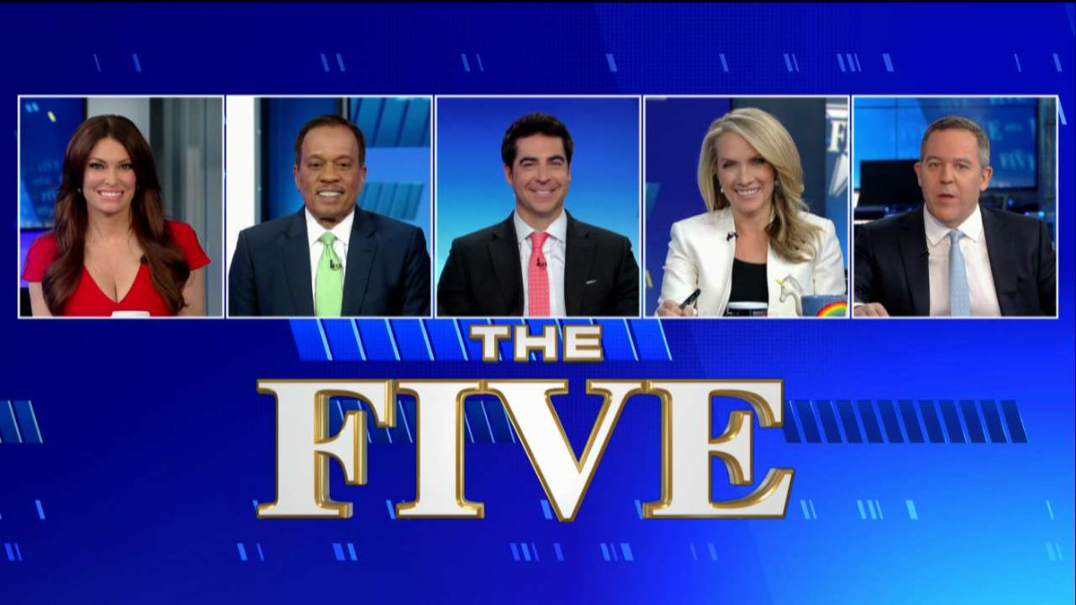 It's time for #TheFive - Tune in to Fox News Channel now!
