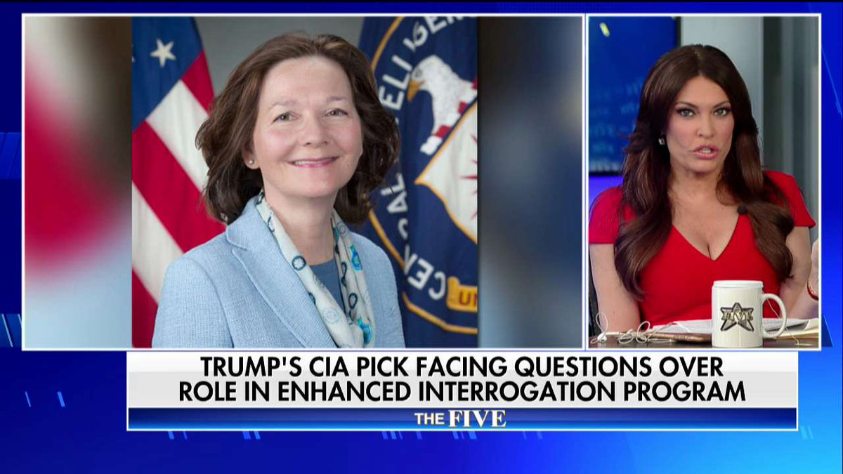.@kimguilfoyle on Gina Haspel: 'She's qualified. She deserves the job.' #TheFive