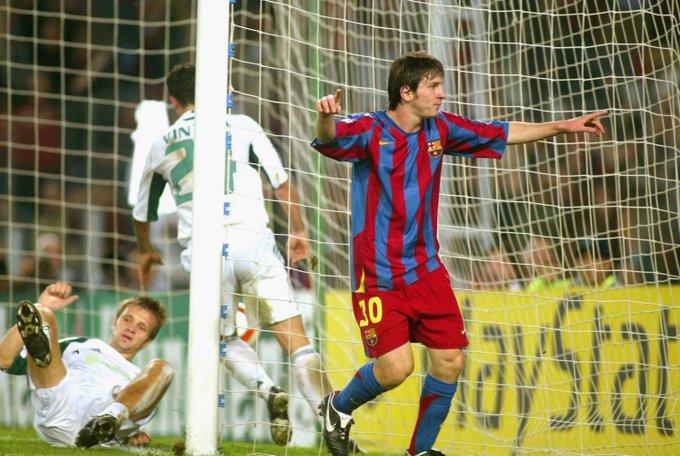 Lionel Messi twitter.