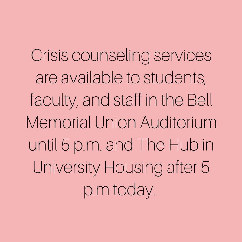 Chico State Counseling >> Chico State On Twitter In Light Of The Tragedy That Occurred On