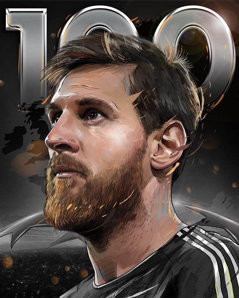 💯  A century of goals for the greatest of all time in the @ChampionsLeague.  #HereToCreate