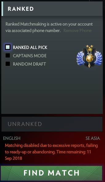 Random draft ranked matchmaking