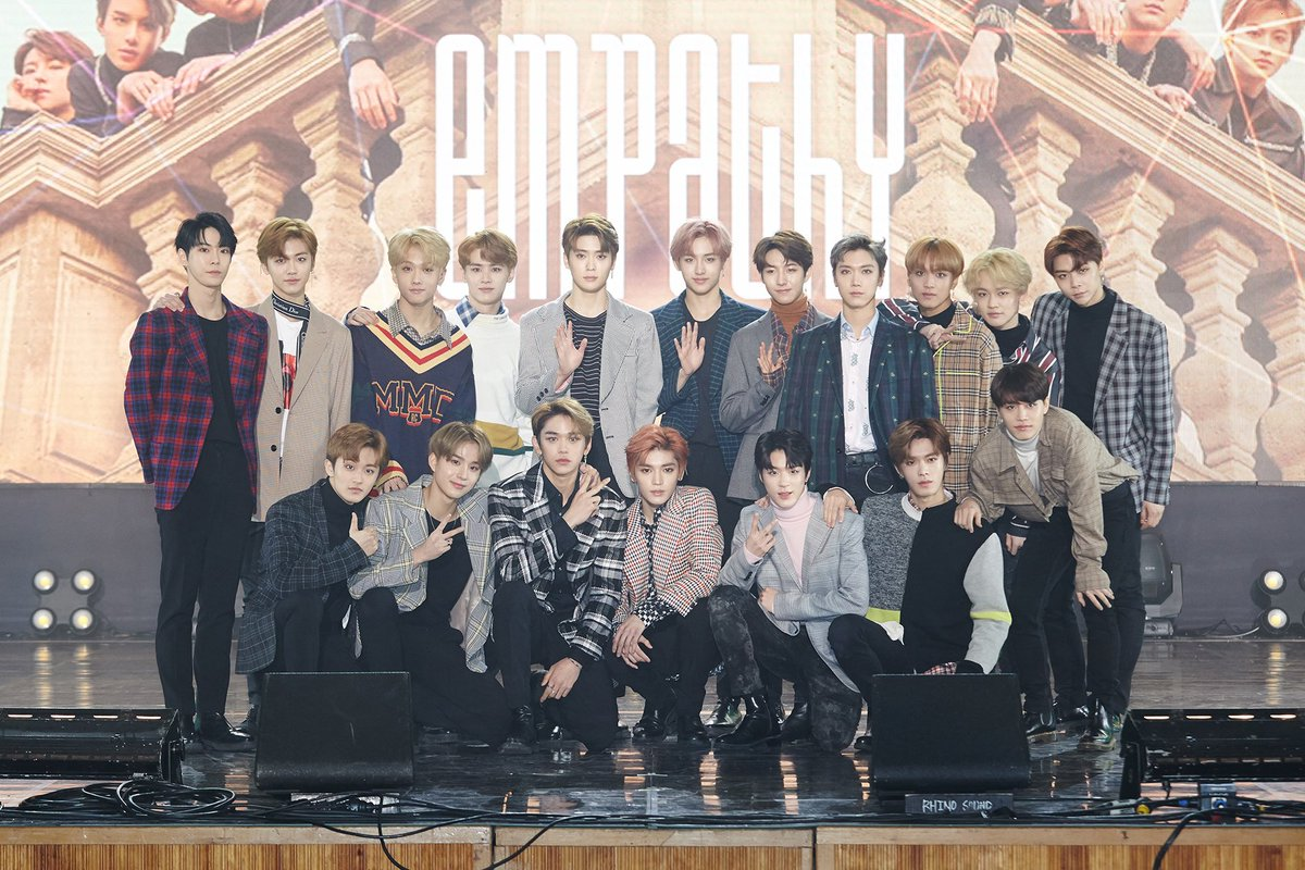 'NCT 2018 EMPATHY' album hits No.1 on domestic music charts!🏆 NCT shows tremendous popularity as a global star by taking No.1 on iTunes albums charts of 18 Countries as well!  Let's keep eyes on NCT's inescapable charms💖  #NCT @NCTsmtown #NCT20182#NCT2018_EMPATHY018 2018_EMPATHY