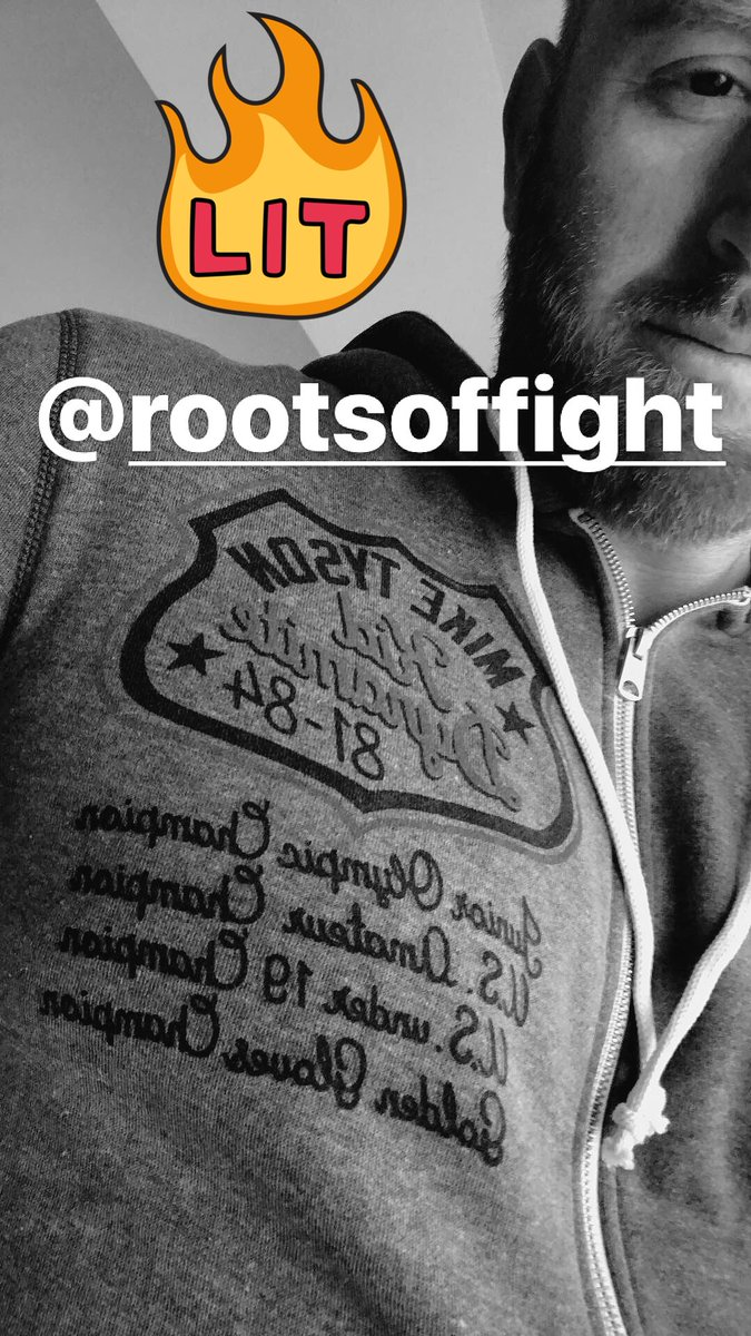 Thanks for the amazing gear @rootsoffight