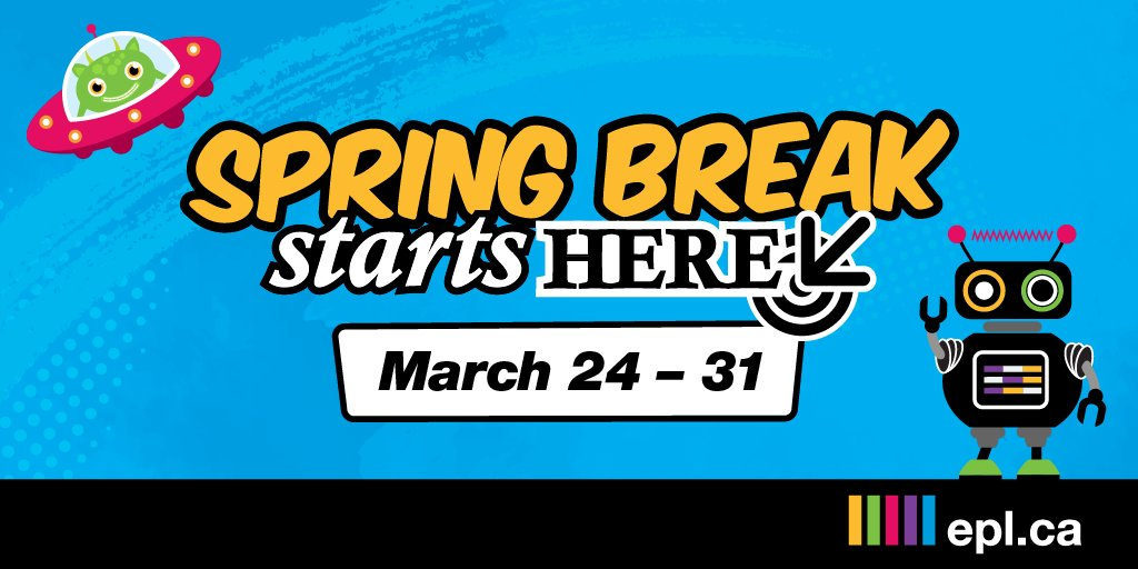 Epldotca On Twitter Plan Your Best Spring Break Yet We Ve Got Everything From Magicians To Puppet Shows And A Ton Of Other Awesome Programs In Between Https T Co Nf1krs45sm Https T Co V1drsxnarh