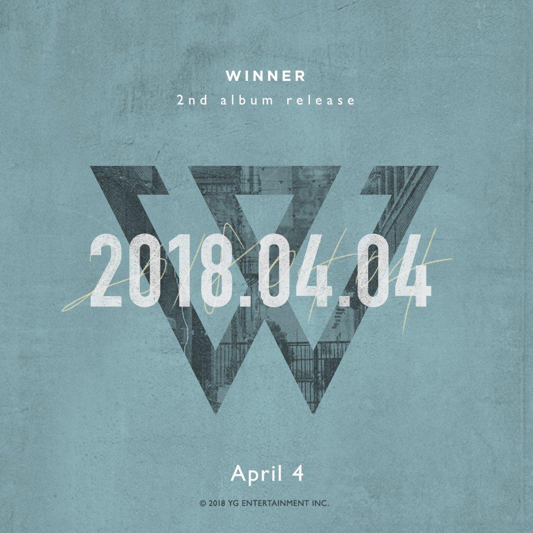 #WINNER COMEBACK TEASER  The 2nd Album Release ➡️ 2018. 04. 04  #위너 #NEWRELEASE #COMINGSOON