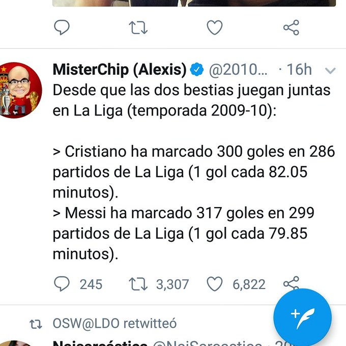 Cristiano twitter.
