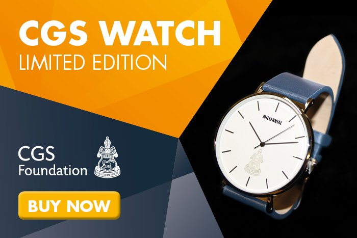We're excited to launch a limited edition CGS Watch by CGS Alumnus Riley Tanton of Millennial Watches - don't miss out and buy yours online at https://t.co/uyHIWLGBy3