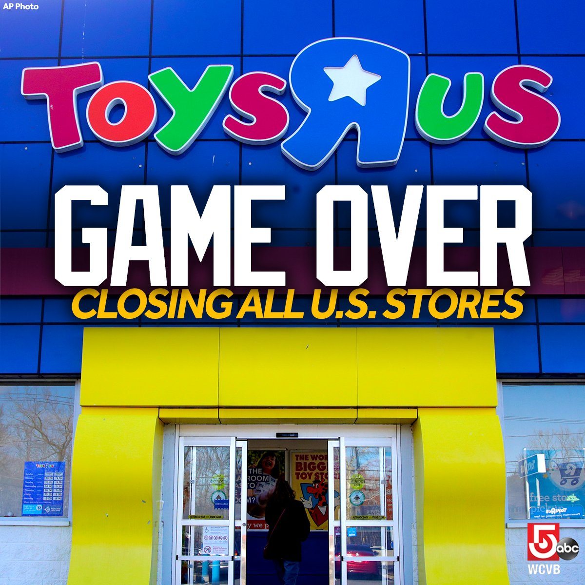 wcvb tv boston on twitter toys r us will close or sell all of