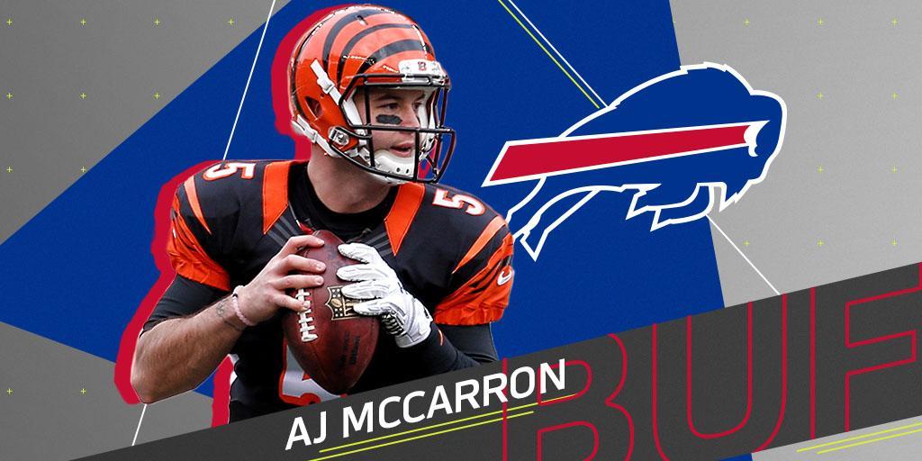 NFL's photo on AJ McCarron