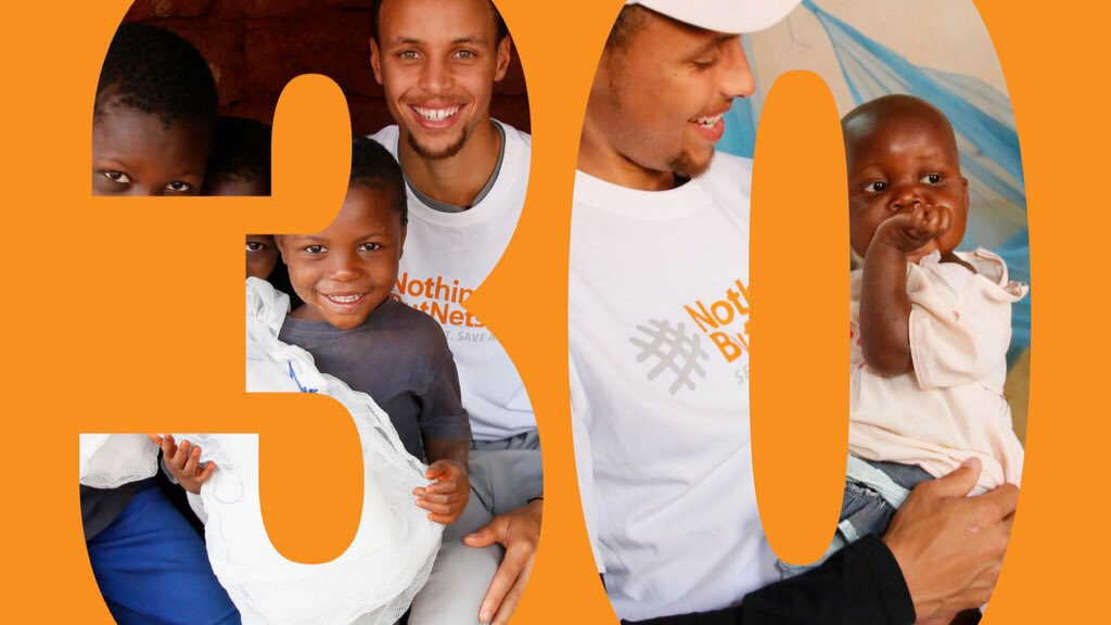 It's a big birthday so let's make a big impact. Can we hit $30K for @nothingbutnets?! 👉🏼bit.ly/2GsI6AM👈🏼