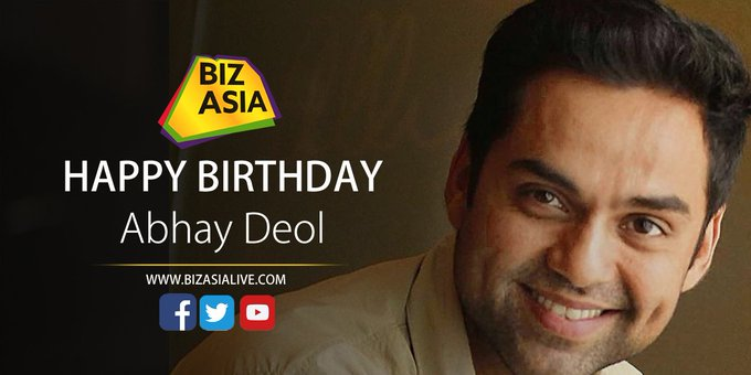wishes Abhay Deol a very happy birthday.