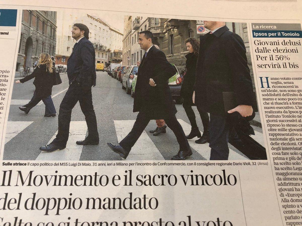 I nuovi Beatles ( Abbey Road) @luigidima...