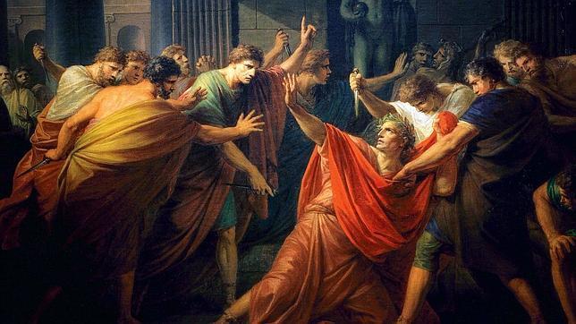 #Taldiacomohoy 44 a.C. Julio César es asesinado por una conspiración senatorial durante los #IdusDeMarzo. Tras el asesinato, los conspiradores huyeron, dejando el cadáver de César a los pies de una estatua de Pompeyo. Junto a @jcarmoraleda lo contamos en  ivoox.com/17040191