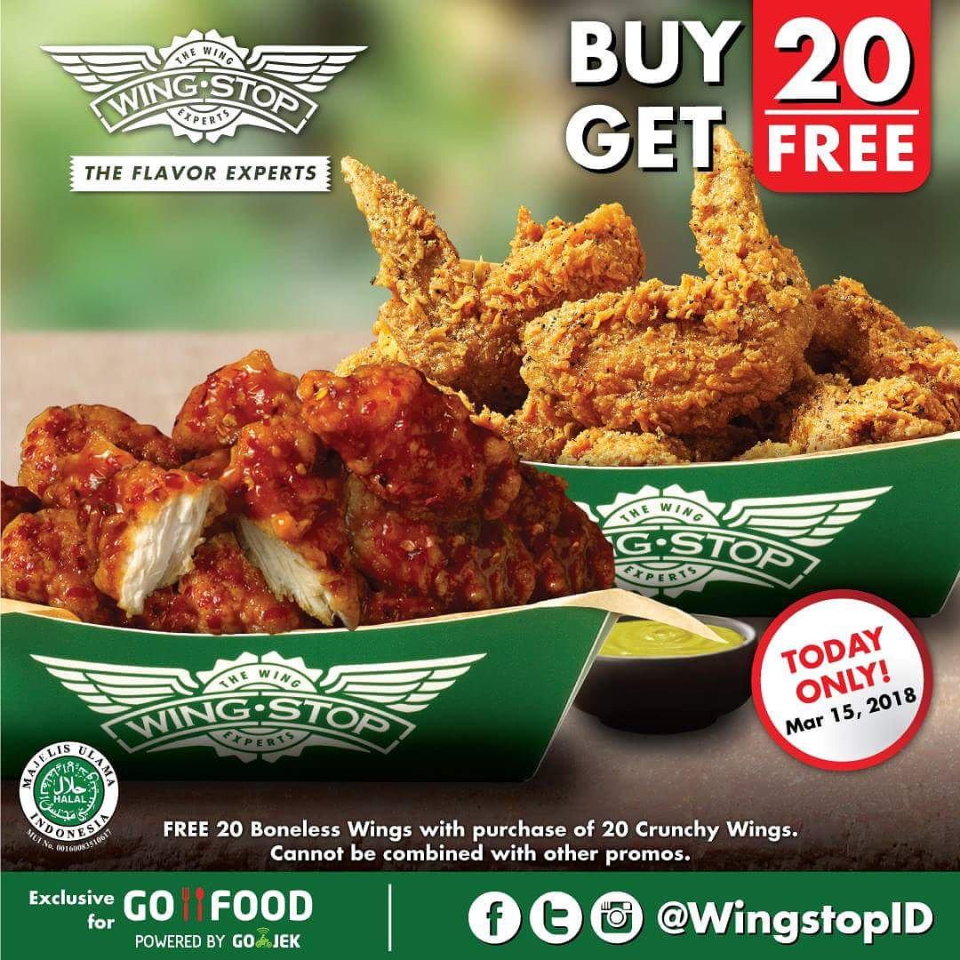 Wingstop Indonesia On Twitter Today Only Enjoy 20 Boneless Wings